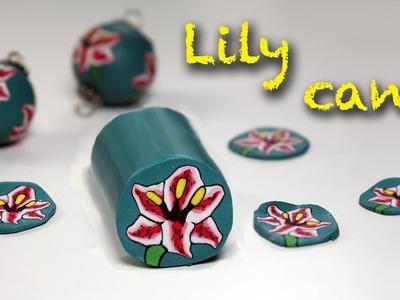 Polymer clay tutoria l- Lily flower cane- Murrina Giglio - Iris