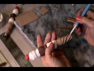 Polymer Clay Tutorial - Ice Cream Cone Pen :)