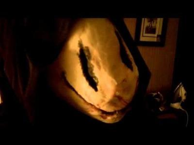 Super Creepy Smiley Face mask
