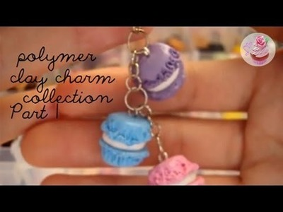 2012 Polymer clay charm collection: PART 1