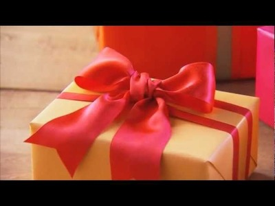 Christmas Gift Ideas - How to Make a Bow