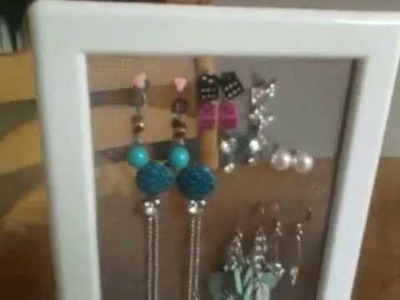 DIY Ikea Hack jewellery storage