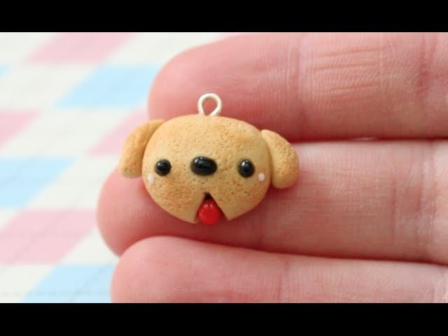 ♡ Dog Bread Bun Polymer Clay Tutorial ♡