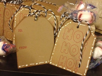 Easy Mass Produce Gift Tags