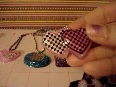 Handmade Resin Charms #1
