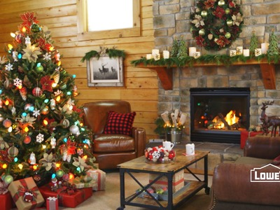 Holiday Lodge: Rustic Woodland Decorations