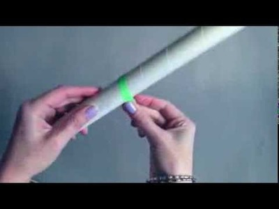 How to make a 5 minute paper pirate sword