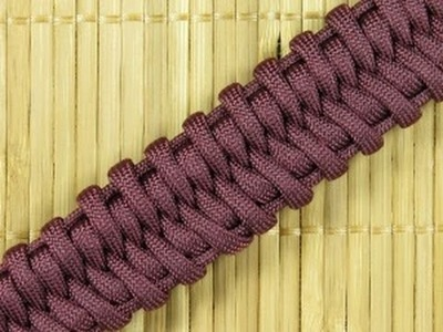 How to make a (M.Agnello) Belly Fishtail Paracord Buckle Bracelet (Paracord 101)