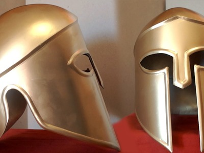How To Make A Metal Spartan Helmet