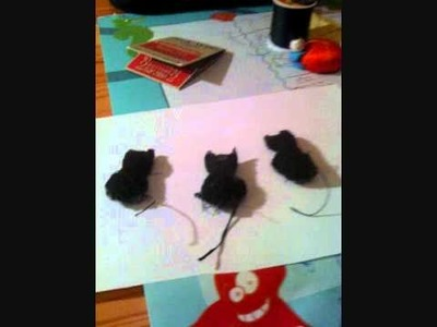 How to make a simple cat plush toy (tutorial)