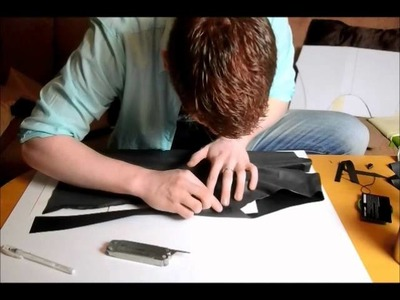 How to make latex fetishwear, tutorial 6. tank top construction.wmv