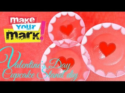 How to: Valentine's Day Cupcake Stands
