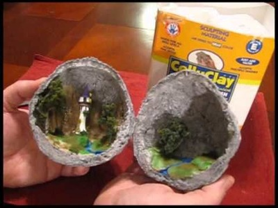 Make a Secret Geode Diorama