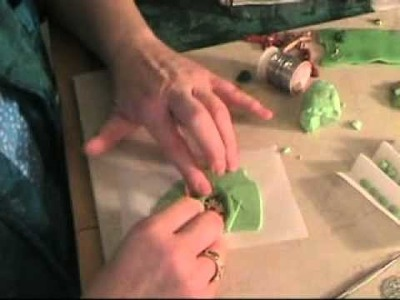 Polymer Clay Jewelry Making - How to Make Framed Pendants - Part 2