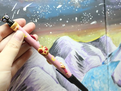 Polymer Clay Sailor Moon Pen Tutorial