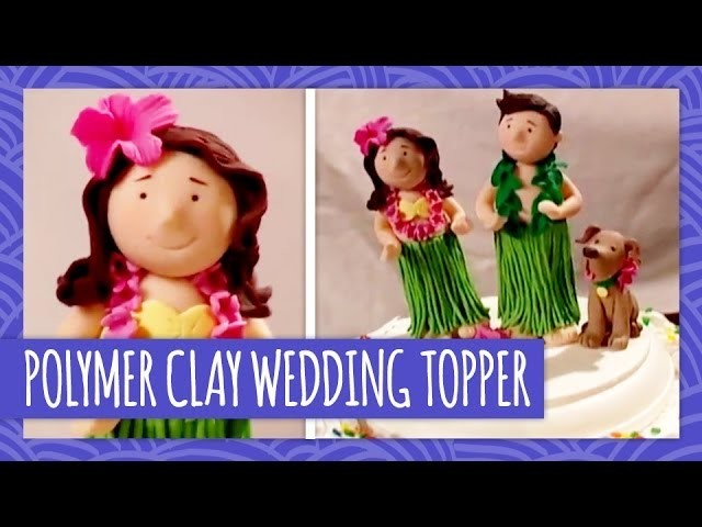 Polymer Clay Wedding Topper - Throwback Thursday - HGTV Handmade