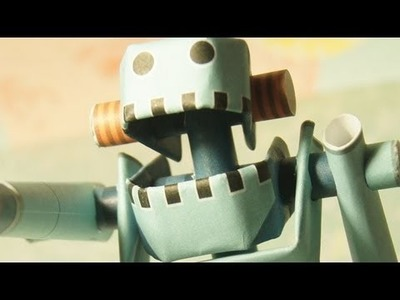 Robot Paper Toy [CoolPencilCase]