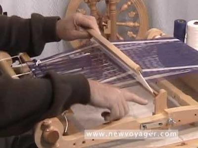 The Kromski Harp - Part 4 - Weaving