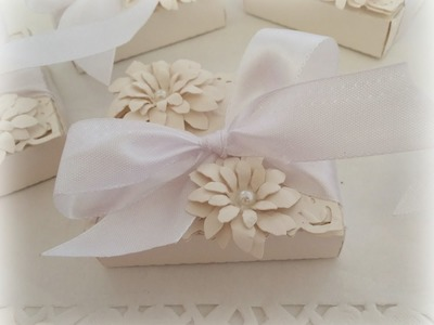 Wedding Favours with Sizzix Bigz Shaker box Die