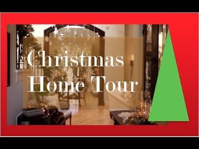 Christmas Decorating Home Tour - Winter Wonderland