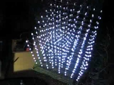 DIY 8*8*8 3D LED Cube Display, Matrix 8,  Demo 3