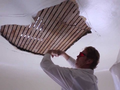 DIY Home ceiling Repairs, DIY interior ceiling repairs