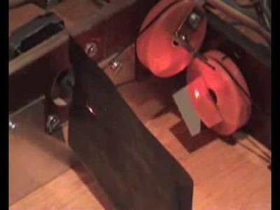 Homemade Laser Cutter 2D