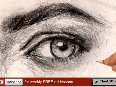 How to draw realistic eye