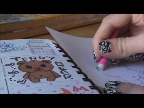 How to Draw: TEDDY BEAR Doodle