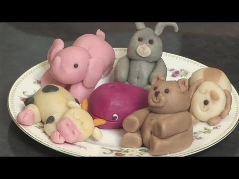 How To Form Marzipan Animals
