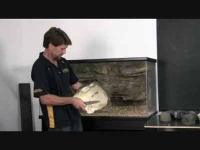 How to Install Shelf Background for Aquariums and Reptile Enclosures