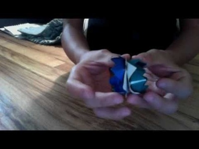 HOW TO MAKE A LOTUS FLOWER WITH ONE PIECE OF PAPER!