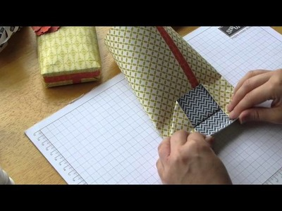 How to make a Stampin' Up! Paper Gift Bag