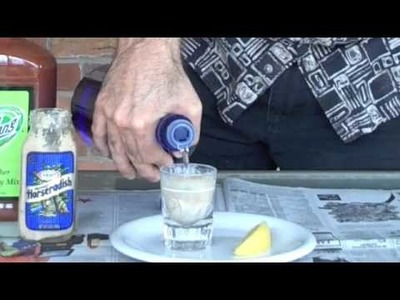 How to make an Oyster Shooter