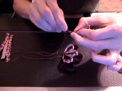 HOW TO: Make Danny's Reversed Loopy Flowers by Just Add A Bow