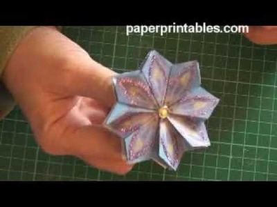 How to - tea bag folding (method 3) tutorial