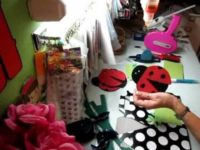 Lady bug bags and boxes
