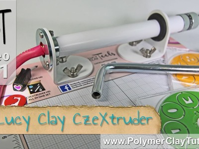 Lucy Clay CzeXtruder XXL HD Review (Polymer Clay Extruder)