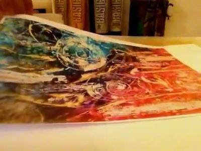 Mixed Media : Acrylic Skins from prints and magazine