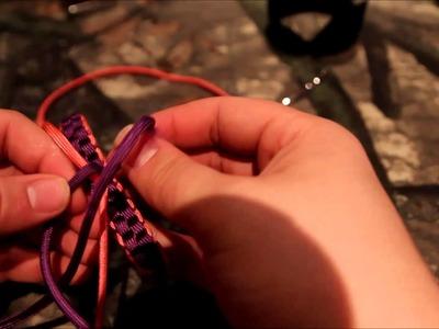 Paracord Cancer ribbon tutorial!