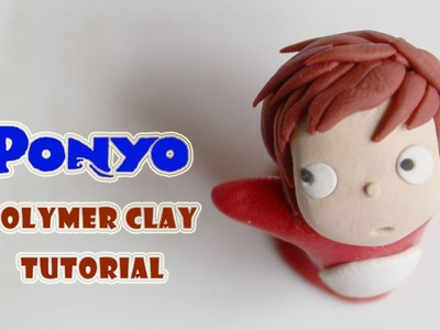 Ponyo Polymer Clay Tutorial (Studio Ghibli)