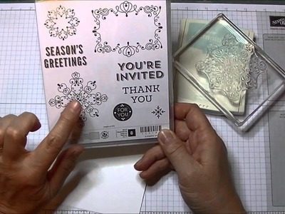 Stampin' Up! Two Minute Quick Tip:  Card Making Trendy Corners