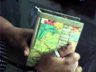 Thanks Jennibellie!! My first bound journal!