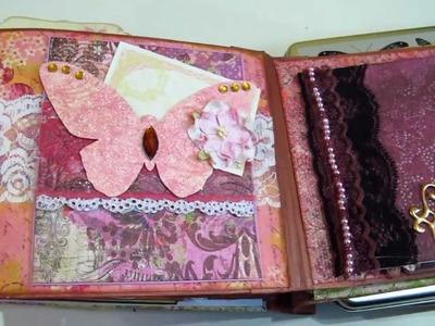 Victorian Garden Cottage Mini Album