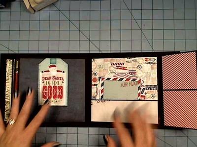 Bo Bunny Elf Magic Flip-it Mini Christmas Album