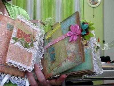 Butterfly Kisses paper bag Album