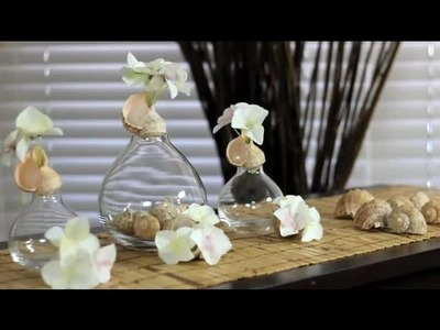 Decorating Objects With Seashells : Decorations for the House