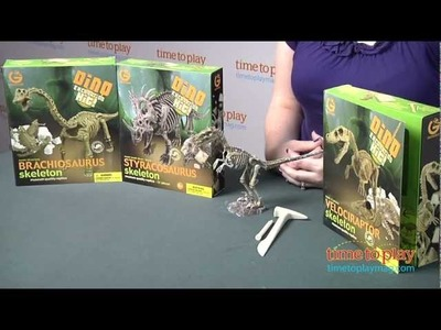 Dino Excavation Kits from Geoworld