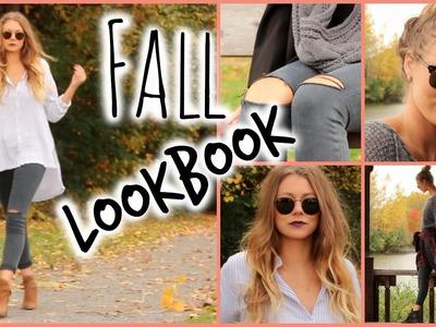 Fall Lookbook. 3 Ways to Style Simple Denim