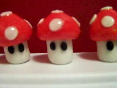 FONDANT SUPER MARIO FIGURINES